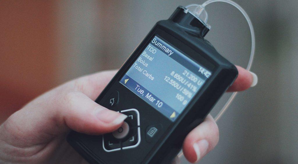De dagelijkse samenvatting van een insulinepomp